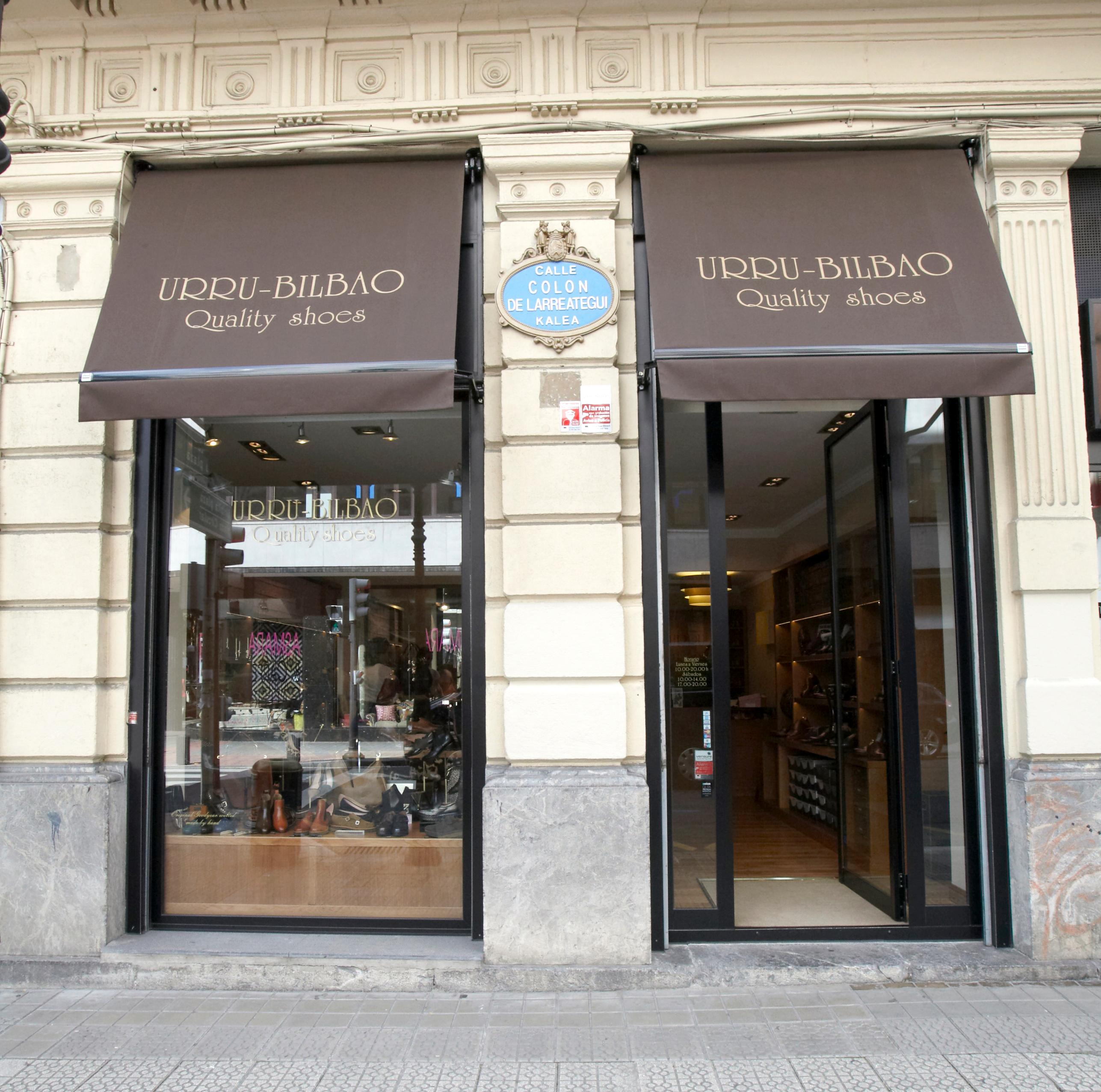Shoes shop Urru Bilbao